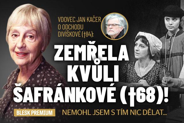 Jan Kačer o odchodu Divíškové: Smrt kvůli Šafránkové!