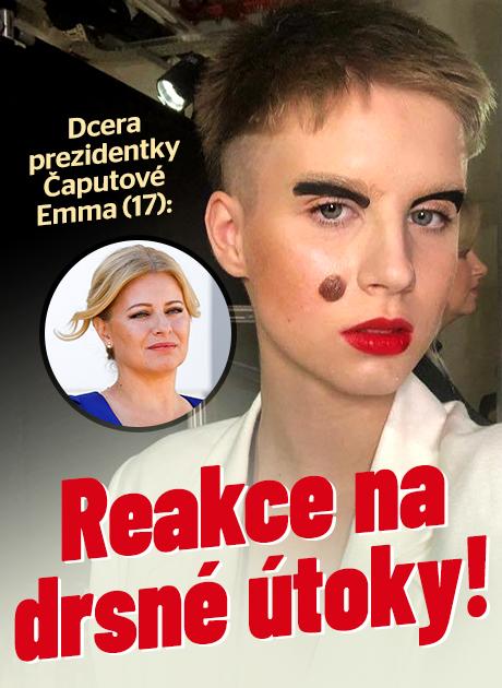 Dcera prezidentky Čaputové Emma: Reakce na drsné útoky!