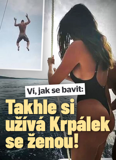 Tarzani na vlnách: Krpálkovi si užívají v Chorvatsku