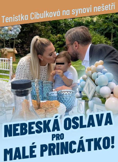 Cibulková se plácla přes kapsu: Nebeská oslava pro prince Jakuba!