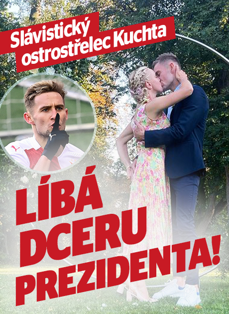 Ostrostřelec Jan Kuchta: Líbá dceru prezidenta!