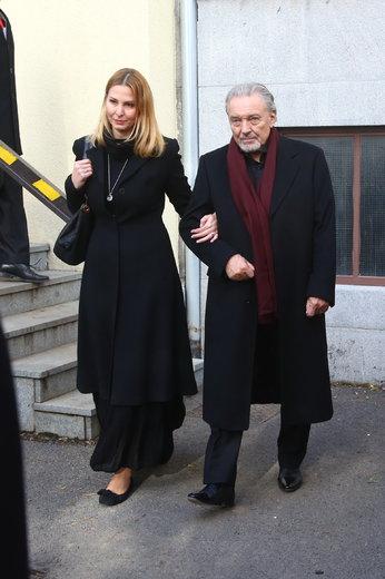 Karel Gott s manželkou Ivanou: On dávno ví, ona se snaží