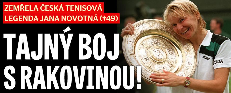Tenistka Jana Novotná (†49) zemřela po dlouhé nemoci: Tajný boj s rakovinou!