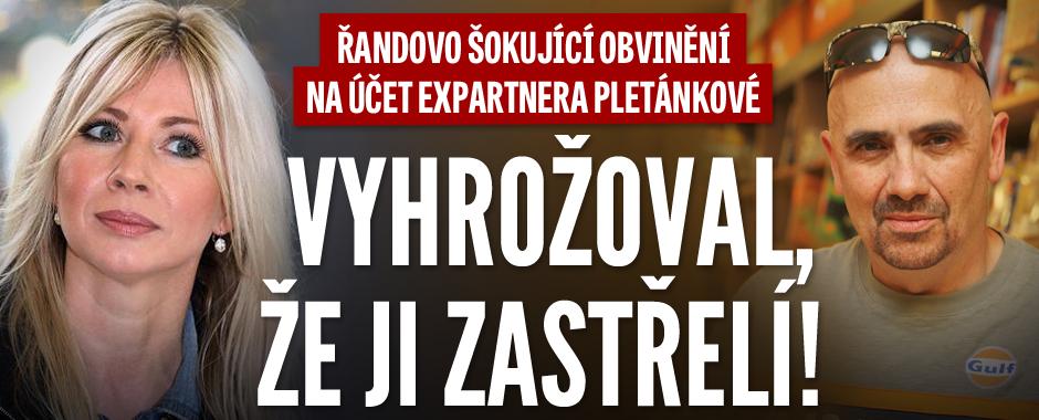 Řanda obviňuje expartnera rosničky Pletánkové: Vyhrožoval, že ji zastřelí!
