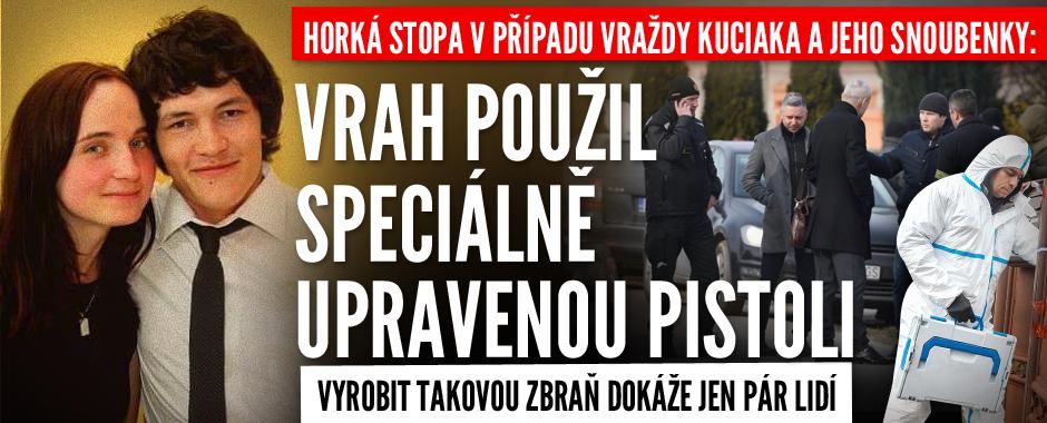 Horká stopa v případu popravy Kuciaka: Vrah použil speciálně upravenou zbraň