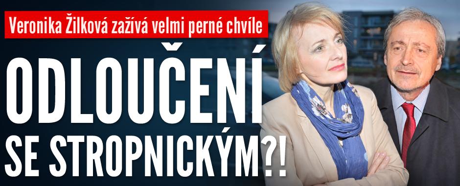 Veronika Žilková zažívá velmi perné chvíle: Odloučení se Stropnickým?!