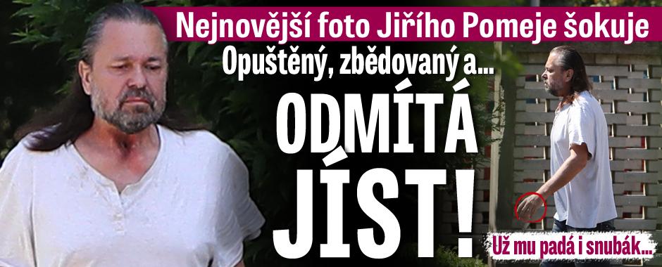 Jiří Pomeje po rakovině hrtanu: Opuštěný, zbědovaný a odmítá JÍST!