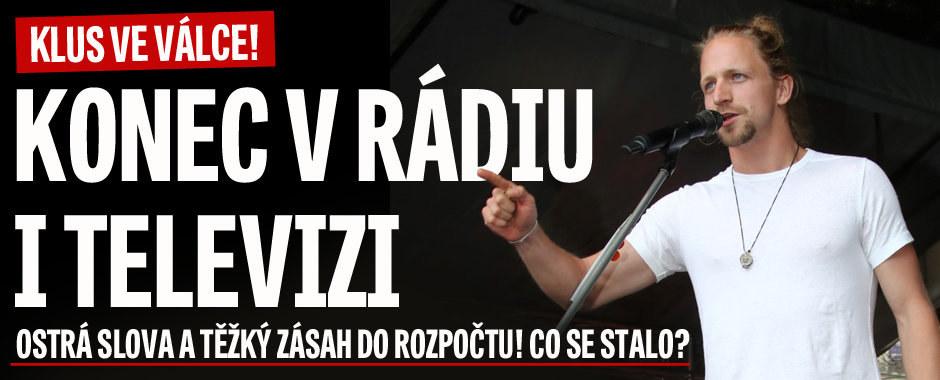Tomáš Klus ve válce: Konec v televizi i v rádiu! Ostrá slova a bolestný zásah do rozpočtu