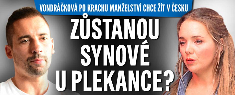 Vondráčková chce po krachu vztahu žít v Česku: Zůstanou děti s Plekancem?
