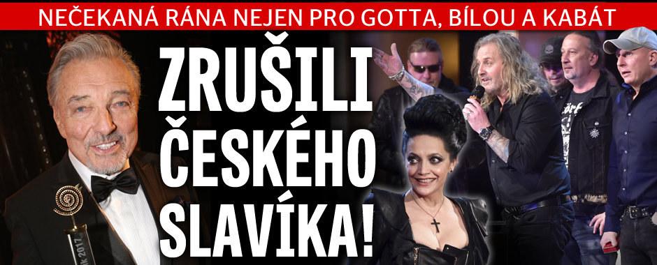 Zemětřesení v českém showbyznysu: Zrušili Českého slavíka!