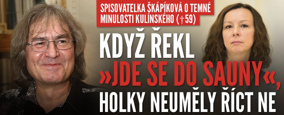 Kulínský (†59) měl ve sboru absolutní moc, pro holky byl bůh, říká spisovatelka Škápíková
