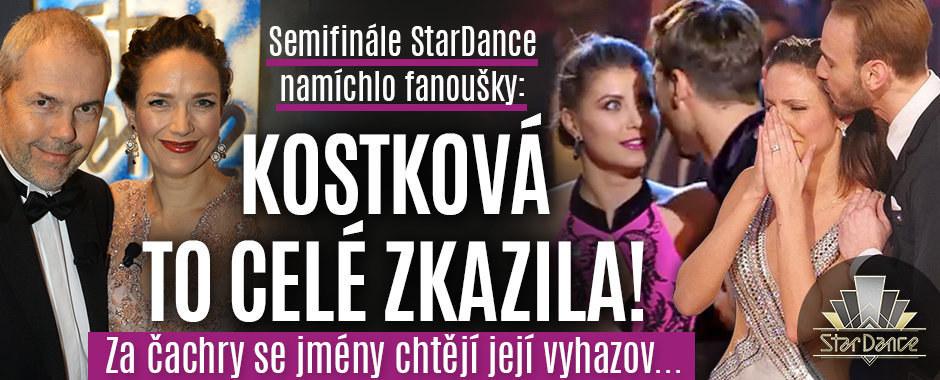 Vyměňte necitlivou Kostkovou, zuří diváci StarDance! Kvůli čachrům se jmény