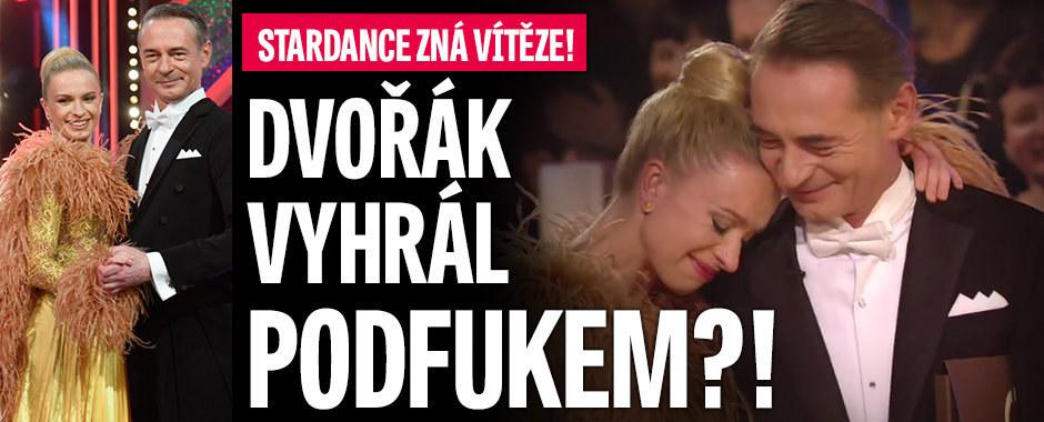 Finále StarDance: Už je jasno! Vítězem je Jiří Dvořák! Vyhrál podfukem?