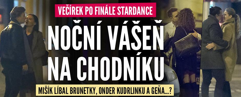Afterparty po finále deváté řady StarDance: Polibky (ne)zadaných mužů!