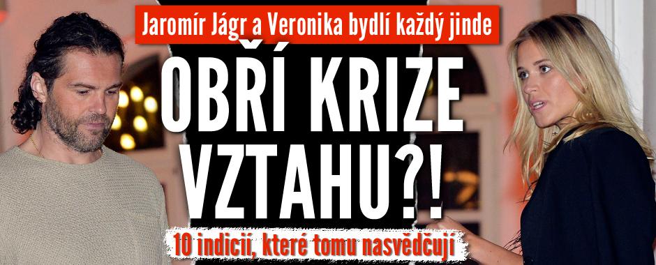 Obří krize ve vztahu Jaromíra a Veroniky? 10 indicií, které tomu nasvědčují