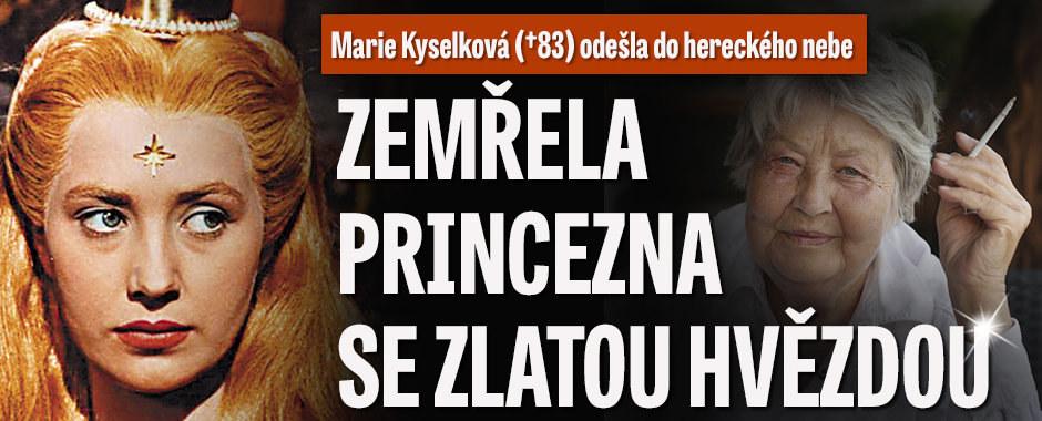 Princezna se zlatou hvězdou Marie Kyselková (†83) zemřela! Našli ji doma bezvládnou