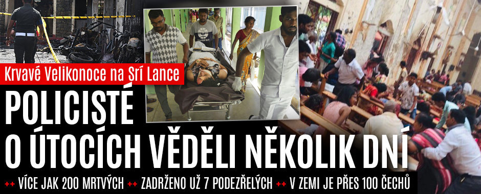 Teror na Srí Lance: Přes 215 mrtvých, 450 zraněných. Na ostrově jsou i stovky Čechů