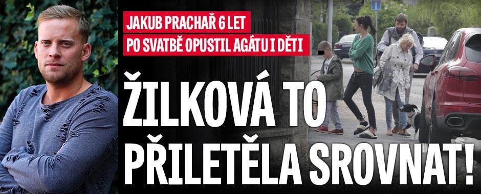 Jakub Prachař 6 let po svatbě opustil Agátu i děti: Žilková zasahuje!