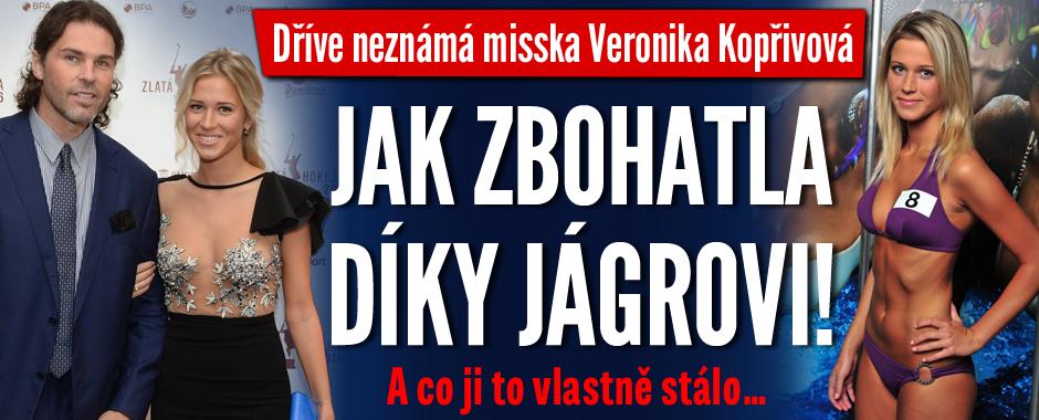 Dříve neznámá misska Kopřivová: Jak zbohatla díky Jágrovi! A co ji to stálo…