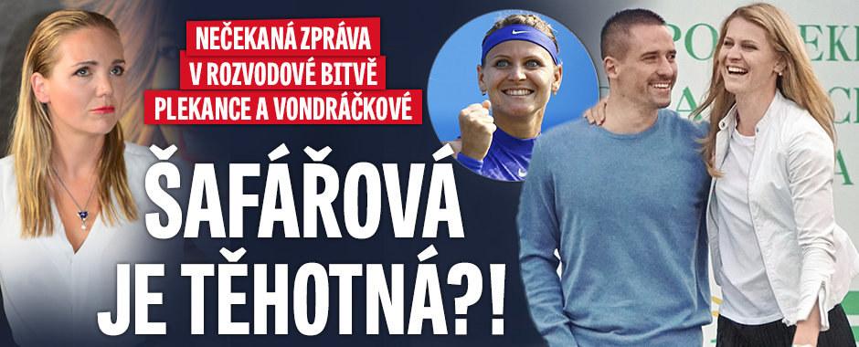 Budou Plekanec a Šafářová rodina? Miminko už je prý na cestě!