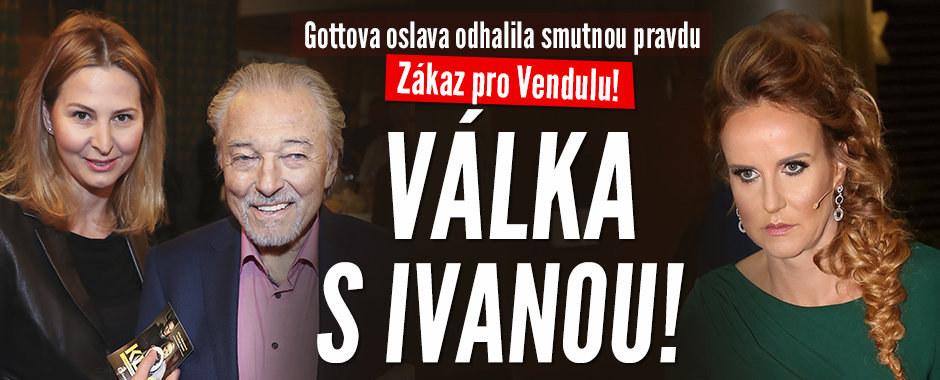 Gottova oslava odhalila: Zákaz pro Vendulu! Válka s Ivanou!
