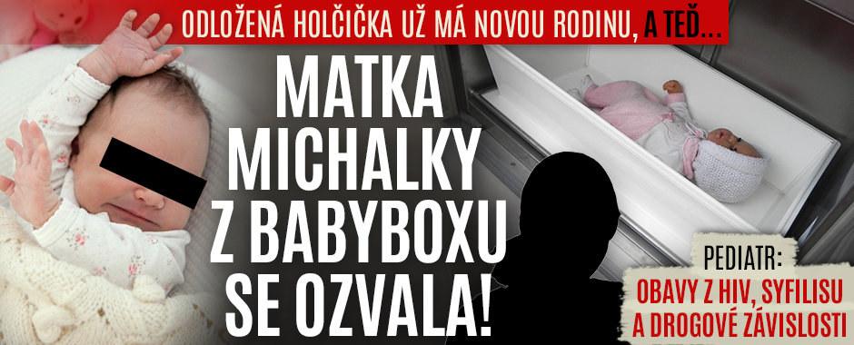 """Ozvala se matka nalezené Michalky z Třebíče: """"Alibismus!"""" říká zakladatel babyboxů"""