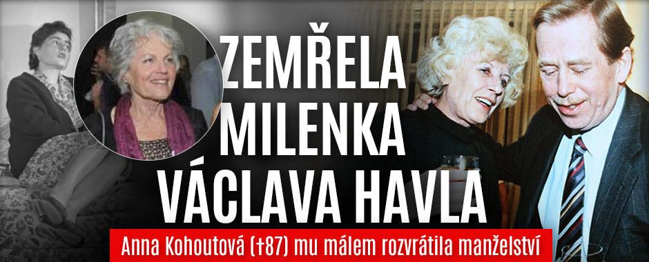 Zemřela Havlova (†75) milenka Anna Kohoutová (†87): Kvůli ní se málem rozvedl!