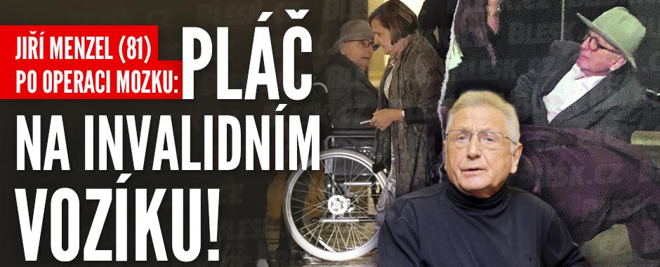 Režisér Jiří Menzel (81) po operaci mozku: Na vozíčku se dojal k slzám!
