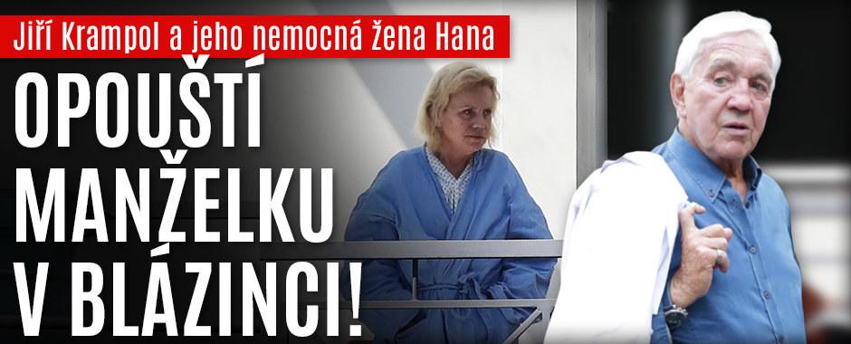 Zoufalý Krampol odjíždí z Česka: Opouští těžce nemocnou Haničku!