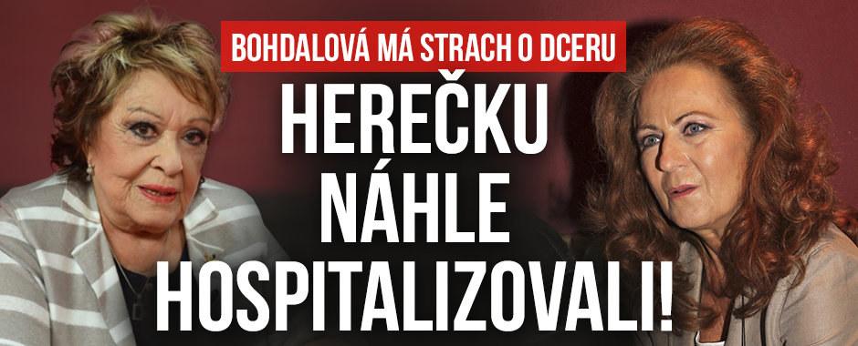 Jiřina Bohdalová: Strach o dceru Simonu Stašovou! Je v nemocnici na kapačkách!