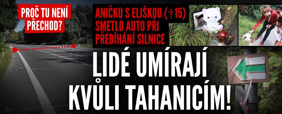 Anička s Eliškou (†15) zemřely kvůli tahanicím o pozemky! Město tu nemůže udělat přechod