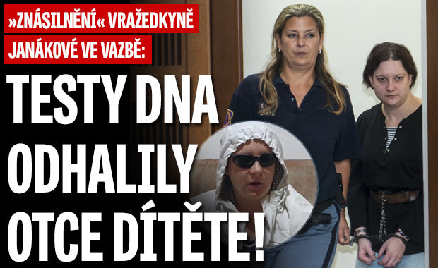 """""""Znásilnění"""" vražedkyně Janákové ve vazbě: Testy DNA odhalily otce dítěte"""