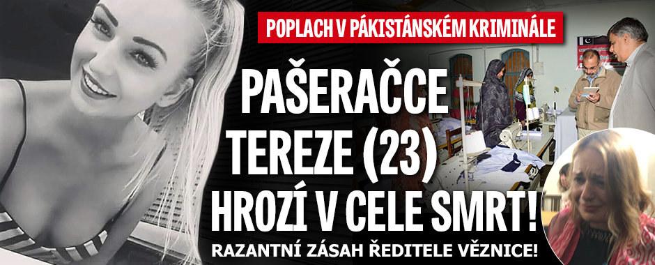 Pašeračka Tereza Hlůšková ve smrtelném nebezpečí: Vězení zachvátila panika!