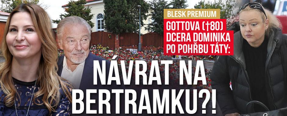 Gottova dcera Dominika chystá útěk do Česka! Může za to manžel