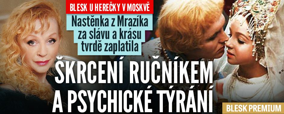 Krutý osud Nastěnky z Mrazíka: Milenec ji škrtil ručníkem!