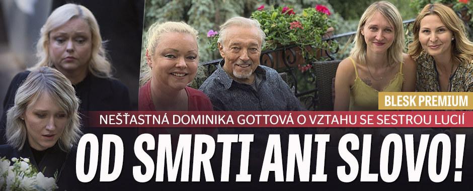 Dominika Gottová přiznala: Sestra Lucie se mnou nemluví! Proč?