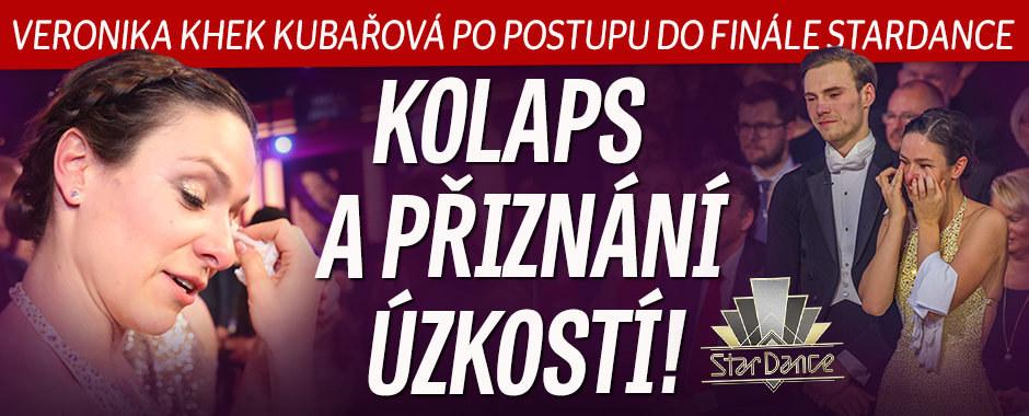 Veronika Khek Kubařová po postupu do finále StarDance: Kolaps a přiznání úzkostí!