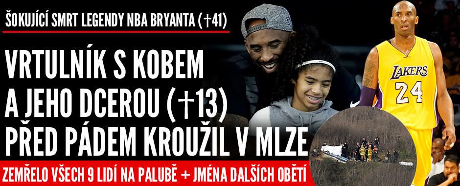 Šokující nehoda! Legenda Kobe Bryant (†41) je mrtvý, zahynula i jeho dcera