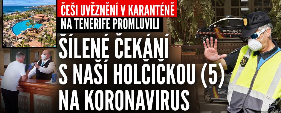 """""""Nejraději bych utekl."""" Čech Michal popsal karanténu na Kanárech, s sebou má i dcerku (5)"""