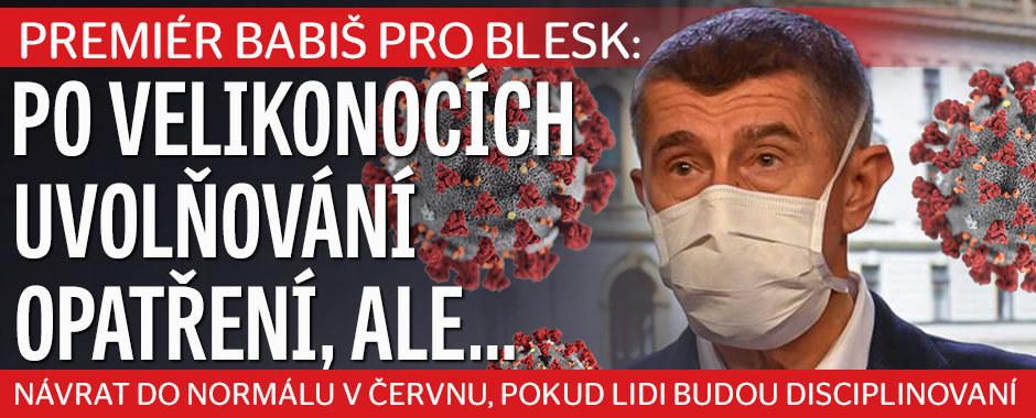 Česko se může vrátit do normálu v červnu, tvrdí Babiš. Poč se nenechal testovat?