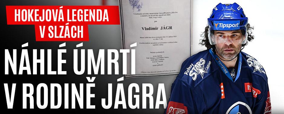 Náhlá smrt u Jágrů: Hokejové legendě zemřel člen rodiny (†71), o kterém nikdy nemluví