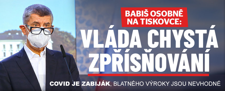 Vláda místo rozvolnění v Česku přitvrdí, Babiš rozdal úkoly ministrům. A obul se do Blatného