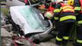 Unikátní video ze zásahu hasičů u smrtelné nehody: Boj o život vteřinu po vteřině