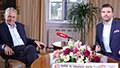 Právě teď živě z Lán: Rozhovor s prezidentem Zemanem