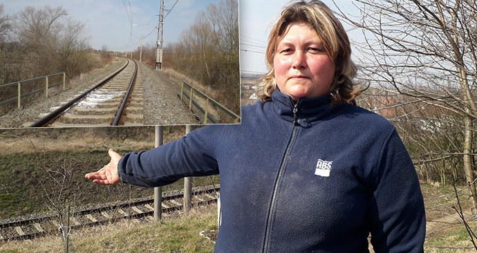 Zde se kamarádky (†18 a †19) nechaly přejet vlakem! Místní z Pivína jsou v šoku z dvojité sebevraždy