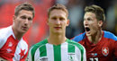 Škodovy slavné góly: Ve třetí lize, hattrick za Slavii i záchrana repre