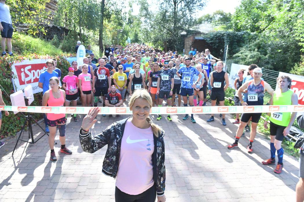 iSport LIFE Columbia závod v Zoo Brno